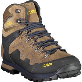 CMP Campagnolo Athunis WP Mid Trekking sko Herrer, brun/sort